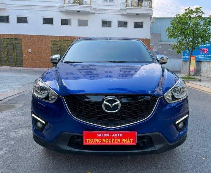 Cần bán Mazda CX 5 năm sản xuất 2014, màu xanh lam0