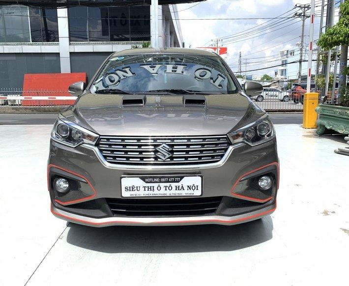 Bán xe Suzuki Ertiga năm sản xuất 2019, xe gia đình đi cực mới, bao test hãng0