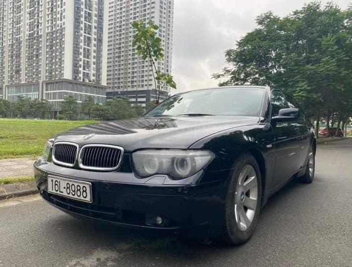 Bán ô tô BMW 730Li sản xuất 2004, màu đen, giá 599tr0