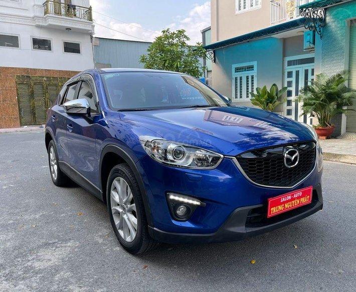 Cần bán Mazda CX 5 2014, màu xanh lam, 588 triệu0