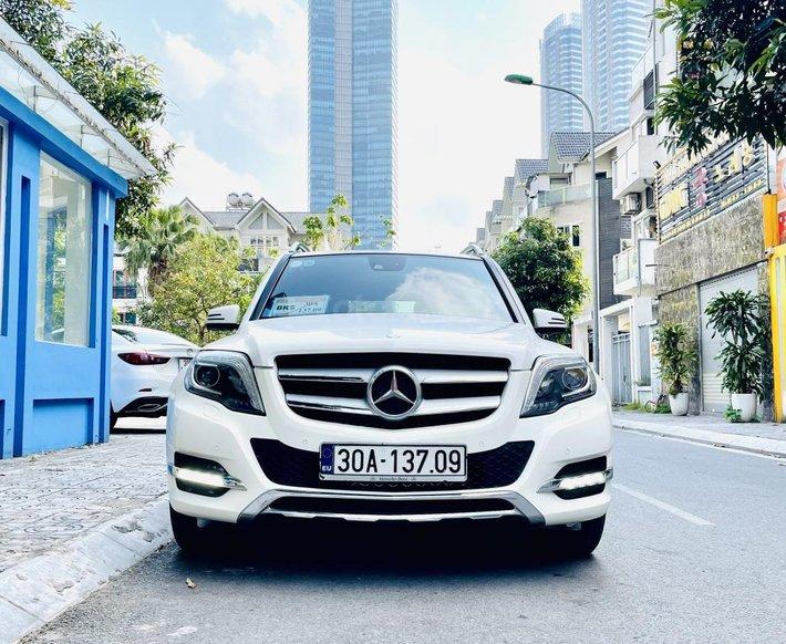 Mercedes GLK250 đời 2014, màu trắng cực đẹp giá rẻ0