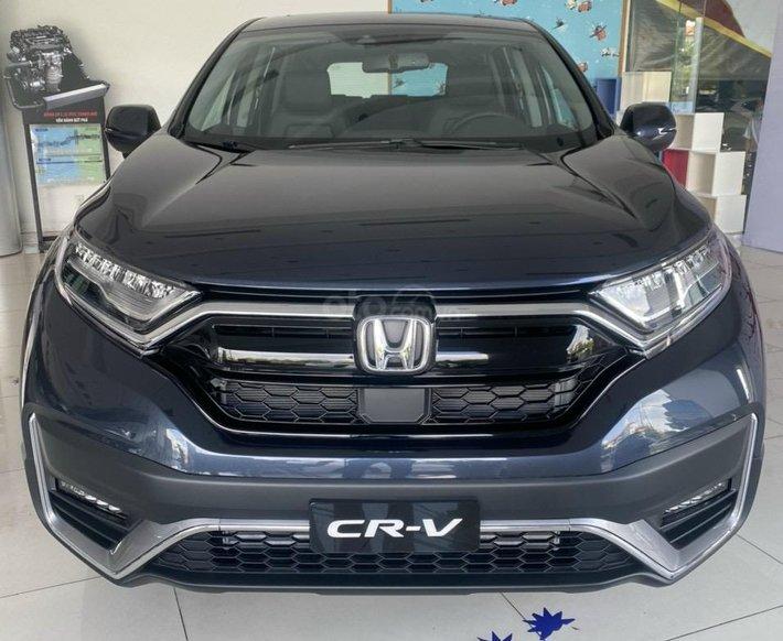 Honda CR-V Sensing 2021 hỗ trợ vay trả góp, xe có sẵn giao ngay0