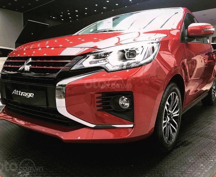 Mitsubishi Attrage CVT Premium 2021, hỗ trợ thuế trước bạ 24 triệu đồng0