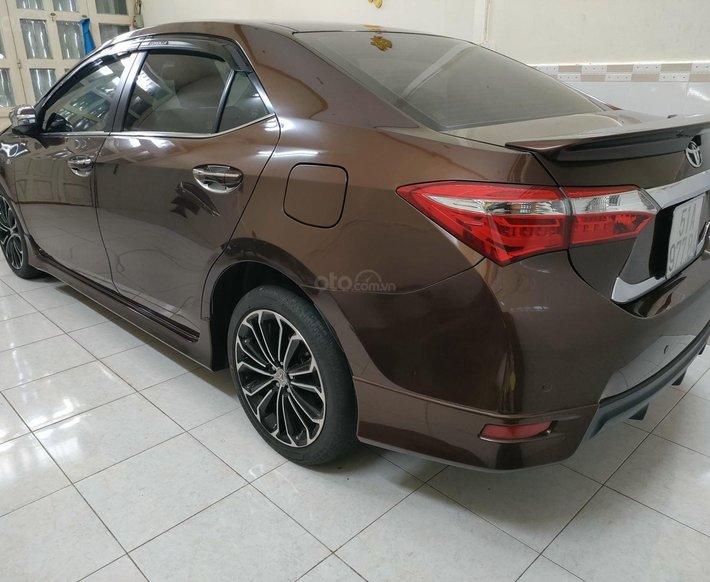 Xe Toyota Corolla Altis năm sản xuất 2014, màu nâu số tự động0