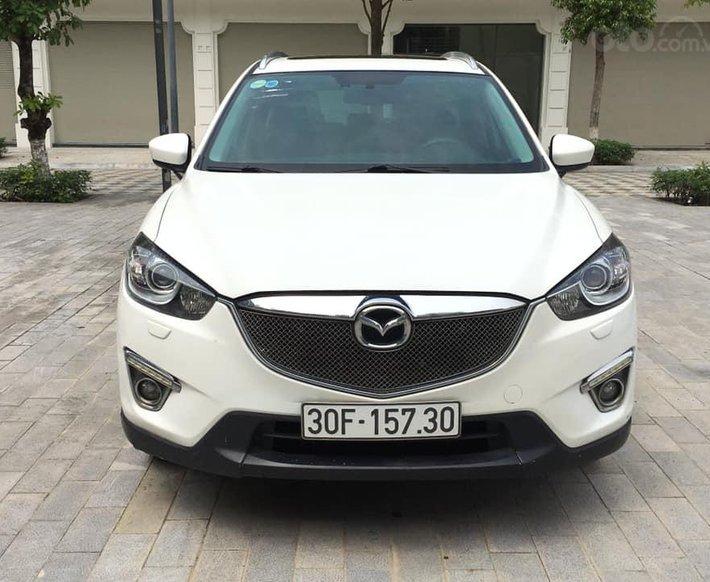 Bán xe Mazda CX 5 sản xuất năm 2013, màu trắng0