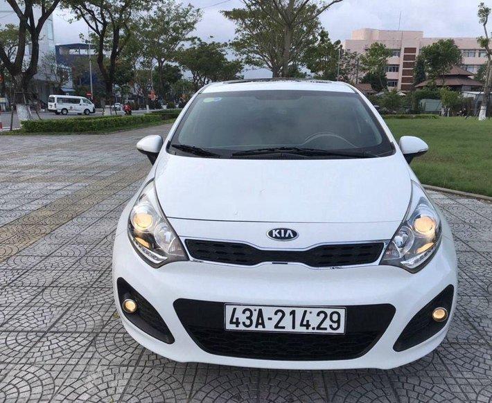 Bán Kia Rio sản xuất 2012, màu trắng, nhập khẩu 0