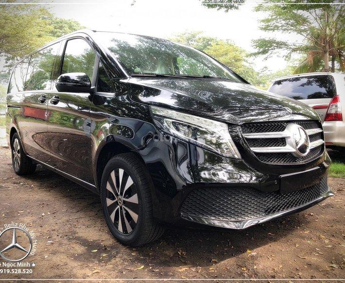 Mercedes-Benz V250 Luxury model 2021, xe gia đình 7 chỗ siêu rộng0