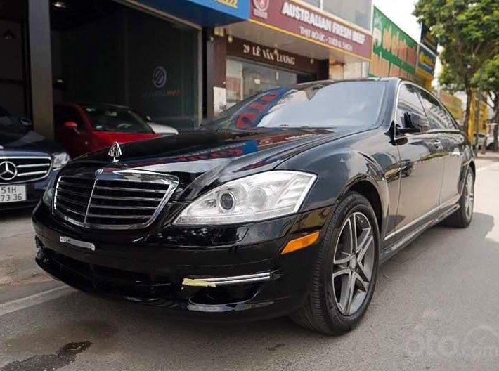 Cần bán gấp Mercedes S500 đời 2006, màu đen, xe nhập còn mới0