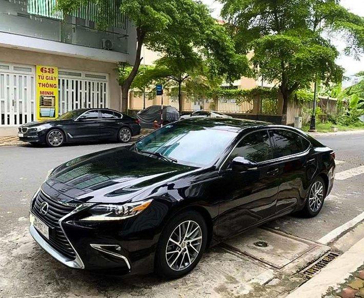 Cần bán lại xe Lexus ES 350 năm 2015, màu đen, nhập khẩu còn mới0