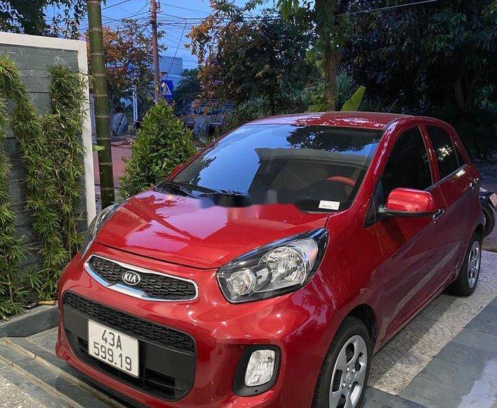 Cần bán lại xe Kia Morning sản xuất 2021, màu đỏ, xe nhập, giá tốt0