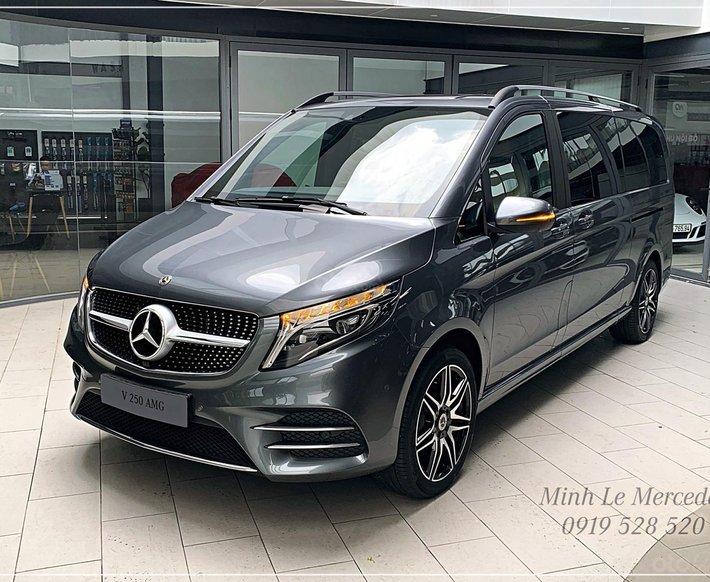 Limousine 6 chỗ cao cấp đầu bảng - Mercedes-Benz V250 AMG model 20210
