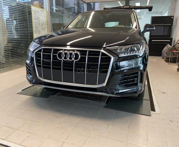 [Ưu đãi lớn] Audi Q7 2021 nhập khẩu, hỗ trợ bank lãi suất thấp, thủ tục nhanh gọn, xe giao ngay0