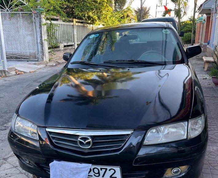 Bán xe Mazda 626 đời 2002, màu đen, nhập khẩu0