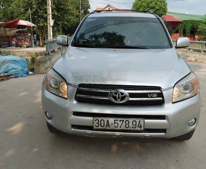 Nhập Nhật nguyên chiếc - Toyota RAV 4 động cơ 3.5AT Limited sản xuất 2007, dòng xe 7 chỗ xịn sò0