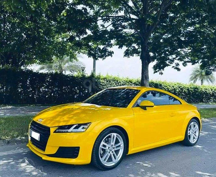 Bán Audi TT đời 2016, màu vàng, xe nhập0