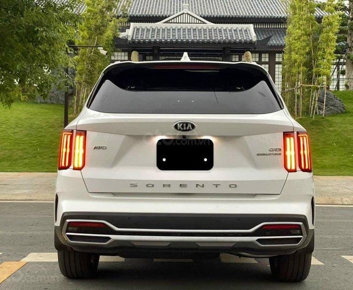 Cần bán xe Kia Sorento AWD Signature Diesel 2020, màu trắng0
