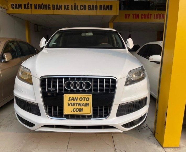Cần bán Audi Q7 Sline nhập Mỹ 3.0 TFSI model 2011 form 2014 nhập Đức0