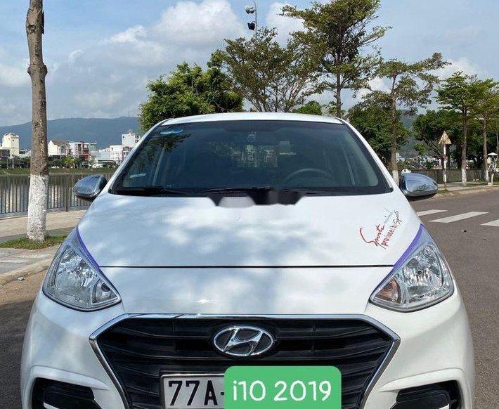 Cần bán xe Hyundai Grand i10 đời 2019, màu trắng0
