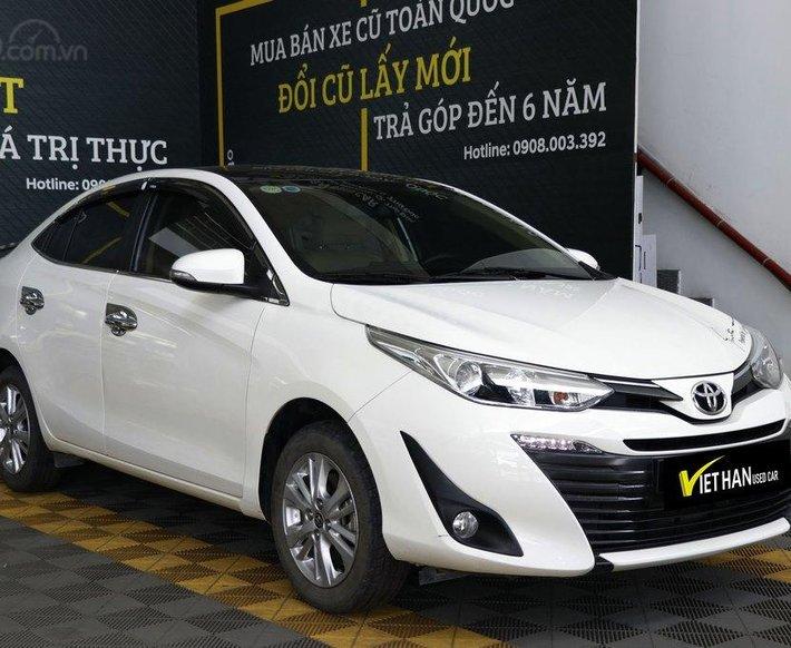 Cần bán xe Toyota Vios G 1.5AT 2019, trả góp0
