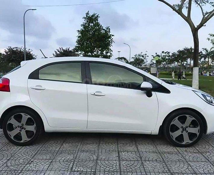 Bán ô tô Kia Rio 1.4 AT năm 2012, màu trắng, nhập khẩu nguyên chiếc  0
