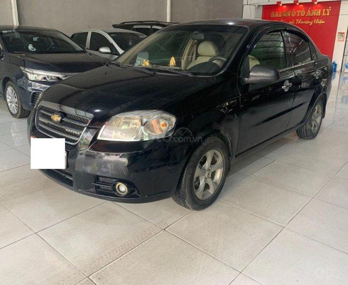 Bán Daewoo Gentra năm 2008, màu đen còn mới, giá 145tr0