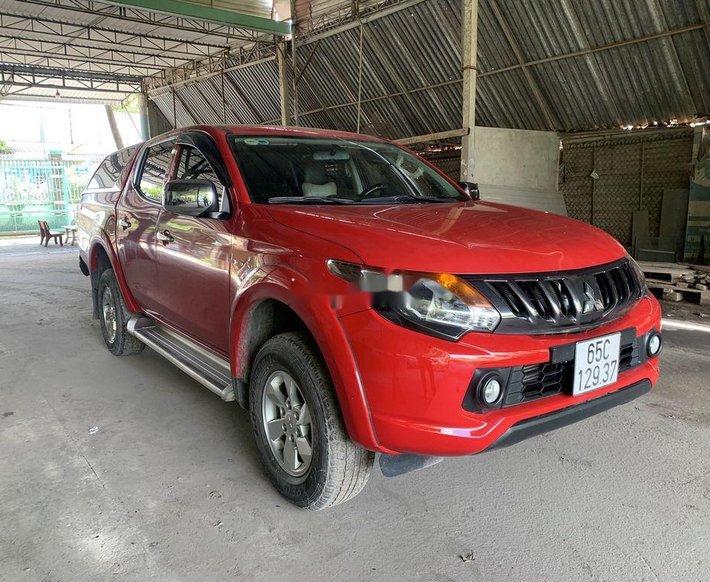 Bán ô tô Mitsubishi Triton 2018, màu đỏ, xe nhập0