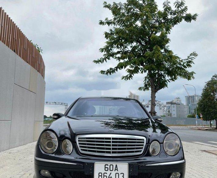 Bán ô tô Mercedes E240 sản xuất năm 2003, nhập khẩu nguyên chiếc0