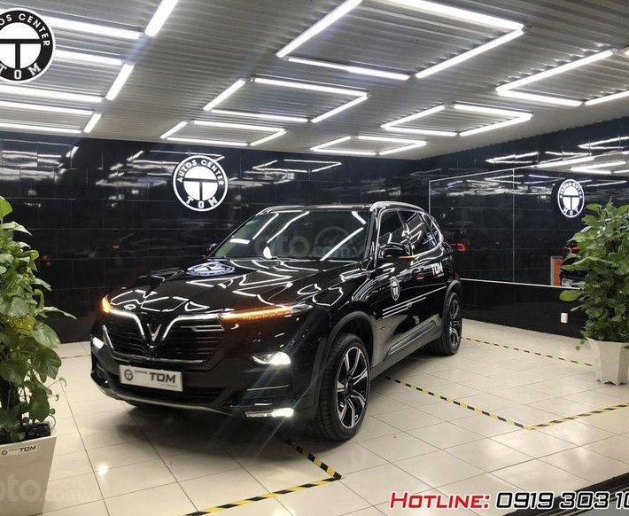 Bán xe VinFast LUX SA2.0 Premium  đời 2021, màu đen0