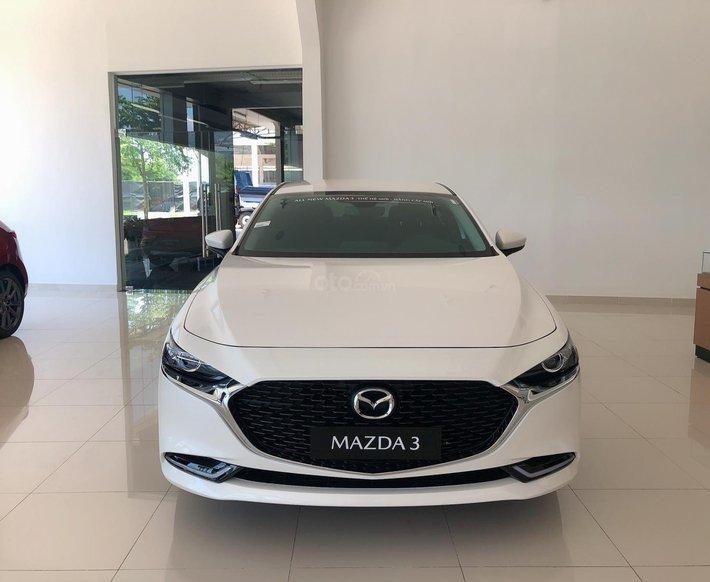 Mazda 3 2021 - ưu đãi giá tốt - tặng bảo hiểm vật chất - xe sẵn giao ngay0