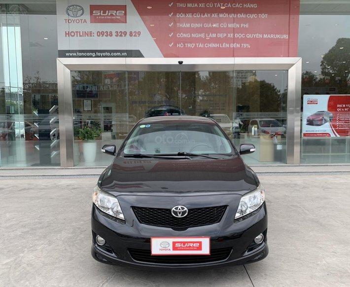 Cần bán xe Toyota Corolla Altis 2.0V 2010 tự động - BS tỉnh công ty XHĐ đủ0