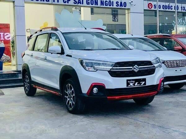 Bán Suzuki Sài Gòn- Suzuki XL7 2021, nhận xe chỉ với 73.5 tr, tặng 20tr và combo quà tặng, giá rẻ nhất Sài Gòn0
