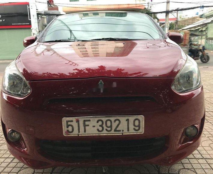 Bán Mitsubishi Mirage đời 2016, màu đỏ, xe nhập xe gia đình giá cạnh tranh0