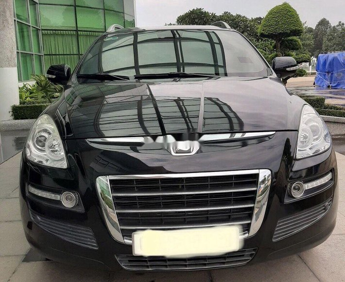 Cần bán Luxgen 7 SUV đời 2010, màu đen, xe nhập số tự động0