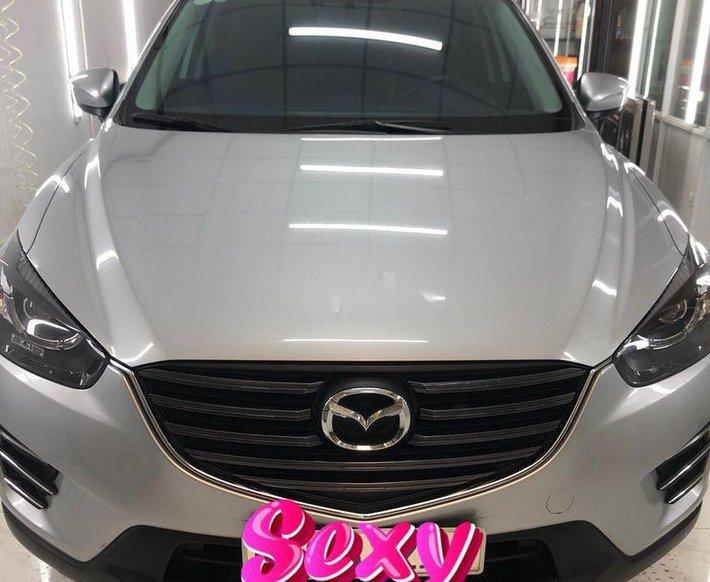 Bán xe Mazda CX 5 2.5AT 2017, màu bạc như mới0