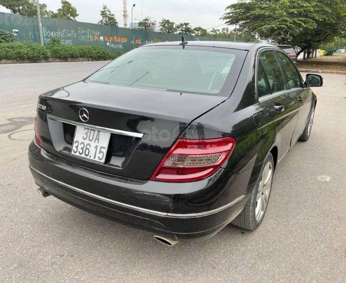 Bán xe Mercedes C230 đời 2008, màu đen0