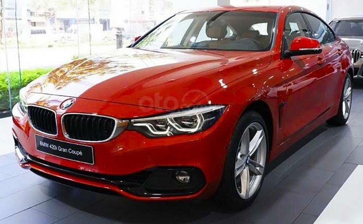 Bán ô tô BMW 420i sản xuất năm 2019, màu đỏ, nhập khẩu nguyên chiếc0