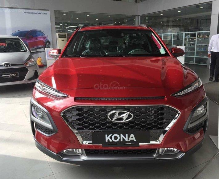 Hyundai Kona 2021, giảm nóng 50 triệu, lãi suất vay 0%, giao xe ngay tại nhà0