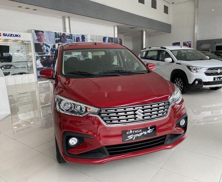 Cần bán xe Suzuki Ertiga sản xuất 2021, màu đỏ, xe nhập, 509 triệu0