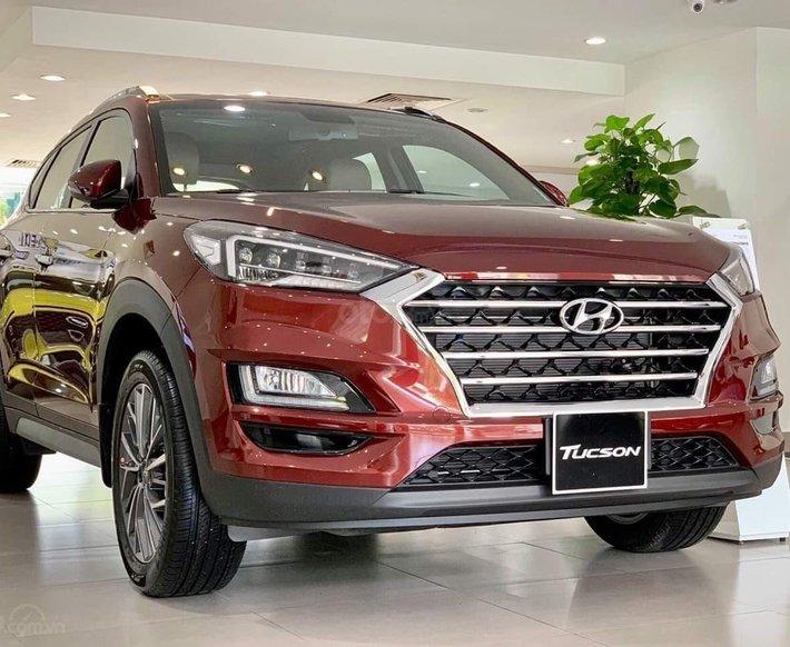 [Hyundai Gia Định] bán Hyundai Tucson 2021 - giảm 35 triệu - tặng full phụ kiện - có đủ màu - giao xe toàn quốc0