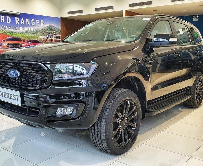 Ford Everest Sport 2021 ngập tràn ưu đãi tiền mặt và phụ kiện0
