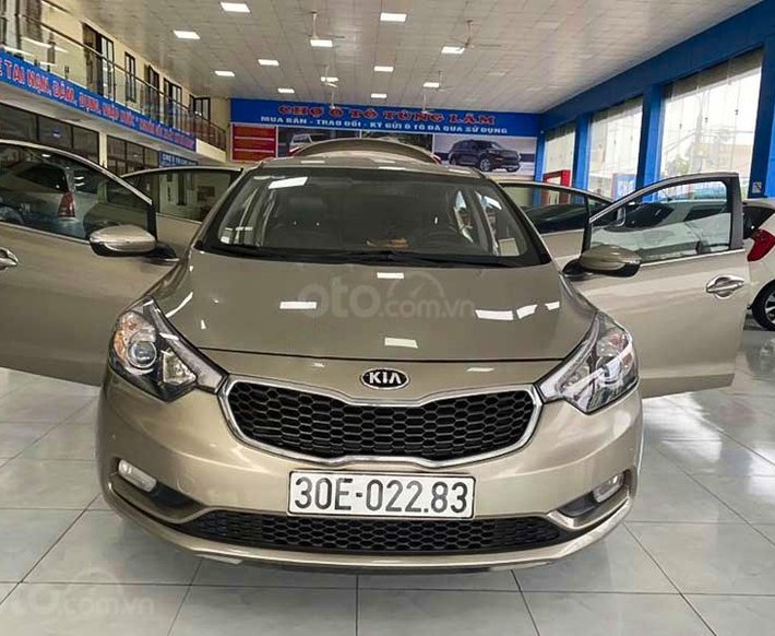 Cần bán lại xe Kia K3 năm sản xuất 2013 còn mới, 438tr0