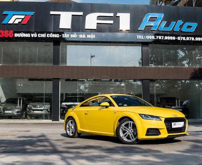 Bán xe Audi TT S Line sản xuất 2017 đăng ký 2018 xe nhập, quá mới, máy móc nguyên bản 100%0