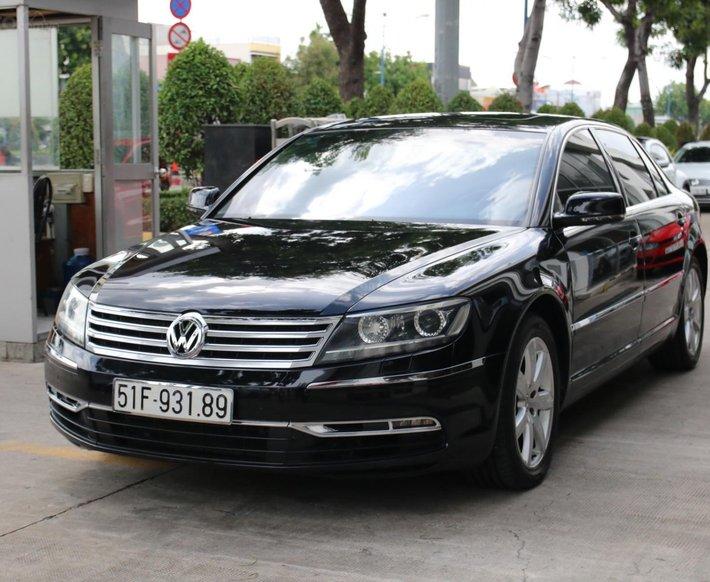 [Công ty thanh lý ] xe Phaeton 3.0 FSI màu đen, nội thất nâu sang trọng xe hiếm có tại Việt Nam0