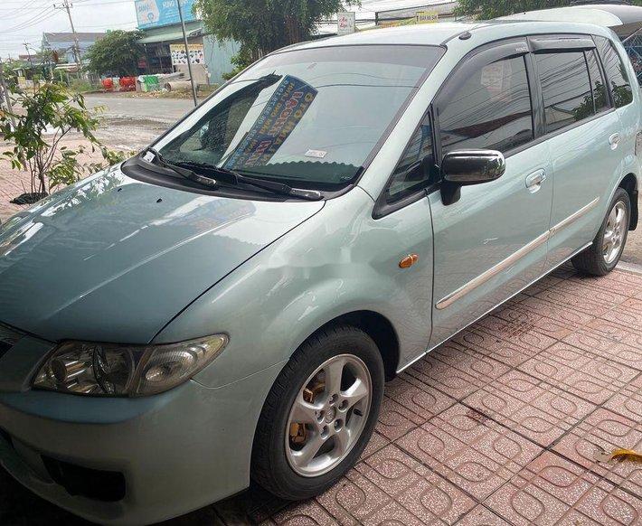 Xe Mazda Premacy năm sản xuất 2004, màu xanh lam  0