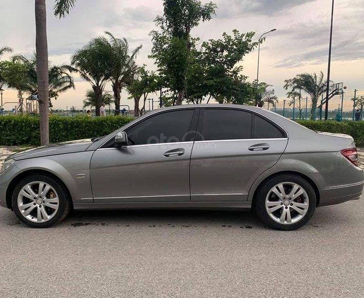Bán Mercedes C200 năm sản xuất 2008, màu xám, giá chỉ 350 triệu0