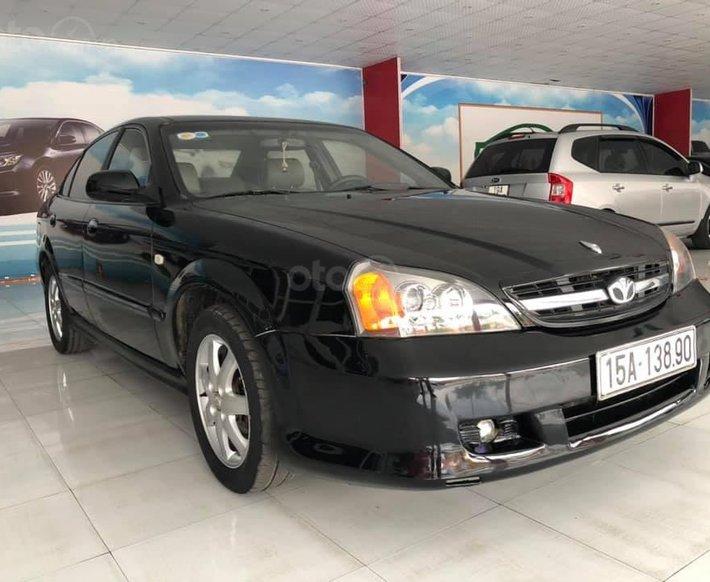 Bán ô tô Daewoo Magnus đời 2007, màu đen, giá chỉ 150 triệu0
