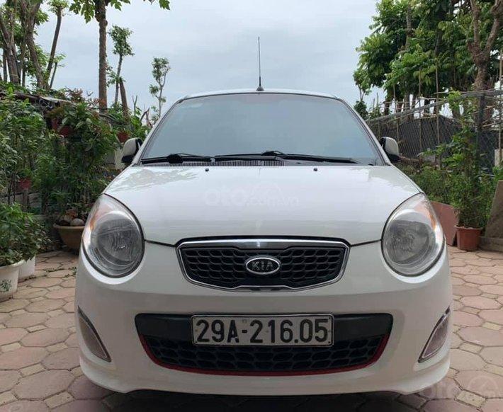 Xe Kia Morning sản xuất 2009, màu trắng chính chủ, giá chỉ 214 triệu0