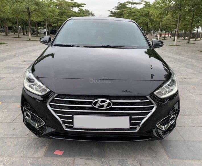 Bán xe Hyundai Accent 1.4AT sx 2019 số tự động0