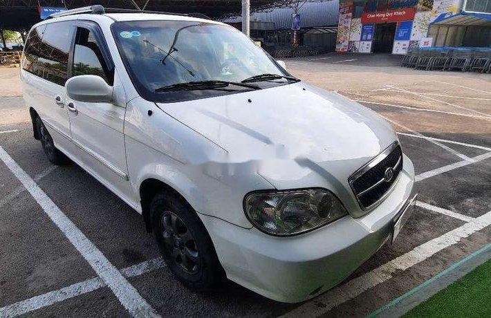 Bán ô tô Kia Carnival năm sản xuất 2006, màu trắng, xe nhập, 162 triệu0