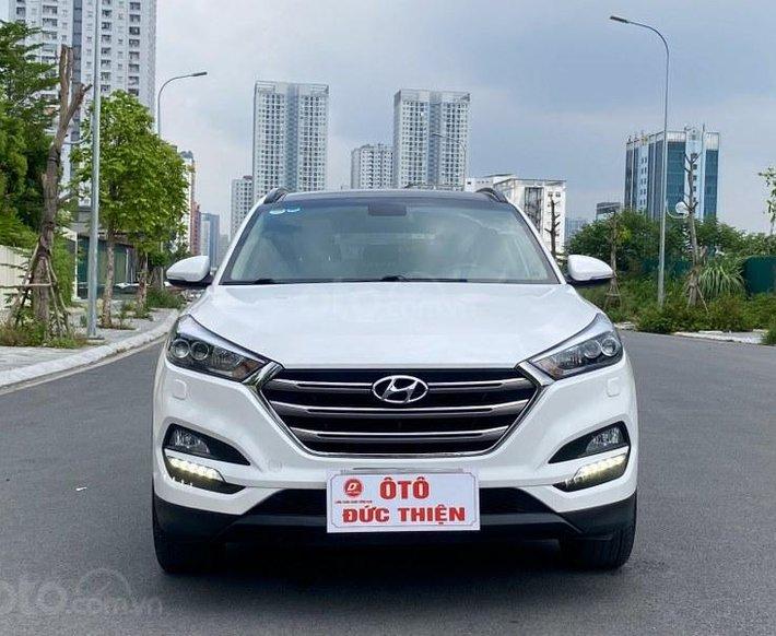 Hyundai Tucson 2.0 ATH 2018, màu trắng0